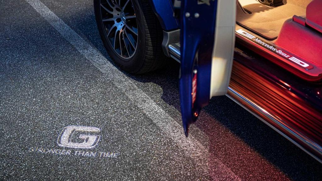 Mercedes-Benz G-Class ky niem tuoi 40 voi phien ban 'Truong ton' hinh anh 4