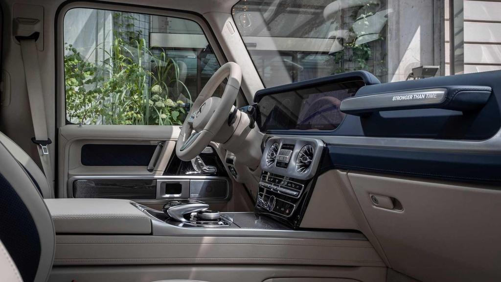 Mercedes-Benz G-Class ky niem tuoi 40 voi phien ban 'Truong ton' hinh anh 5