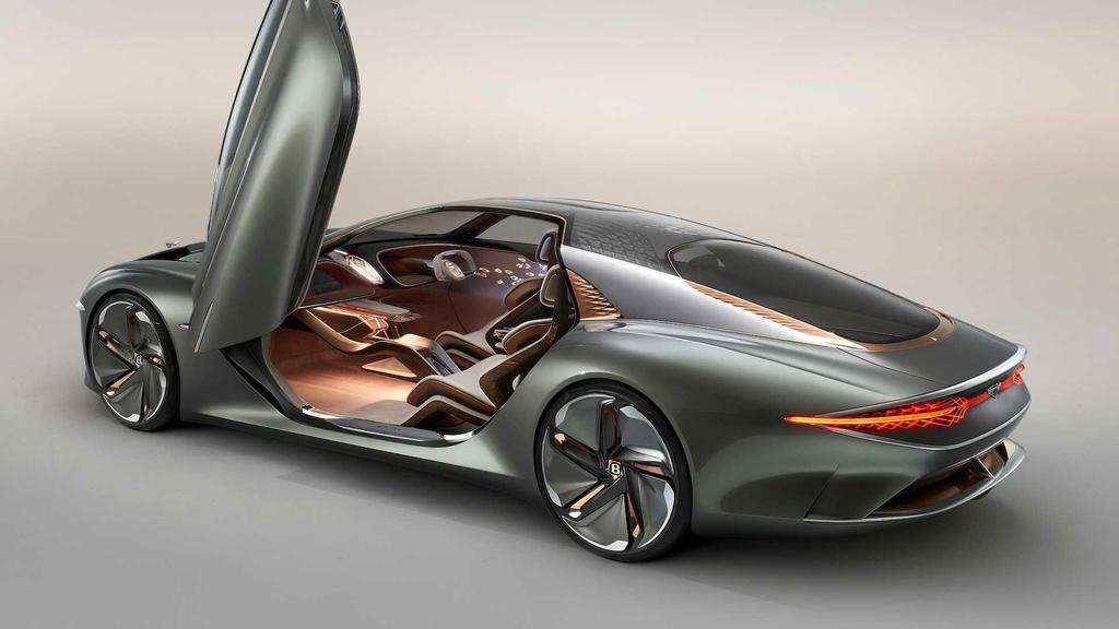 Bentley EXP 100 GT ra mat anh 4