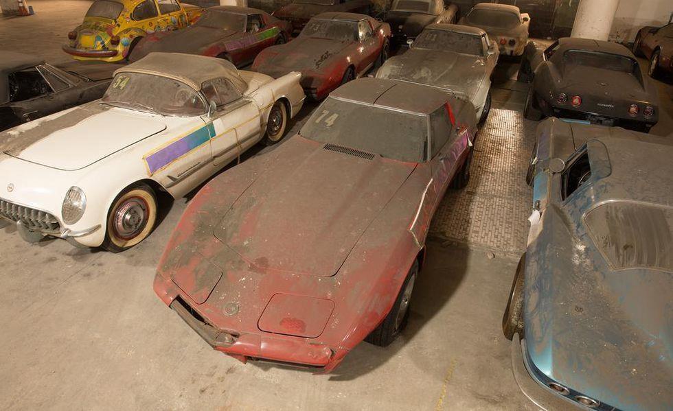 Chevrolet Corvette phu bui 25 nam anh 8