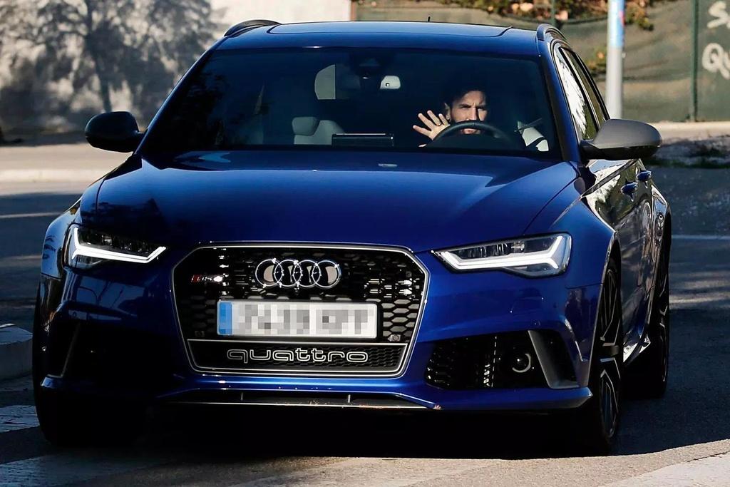 Audi thu hoi xe cua cac cau thu Barcelona anh 2