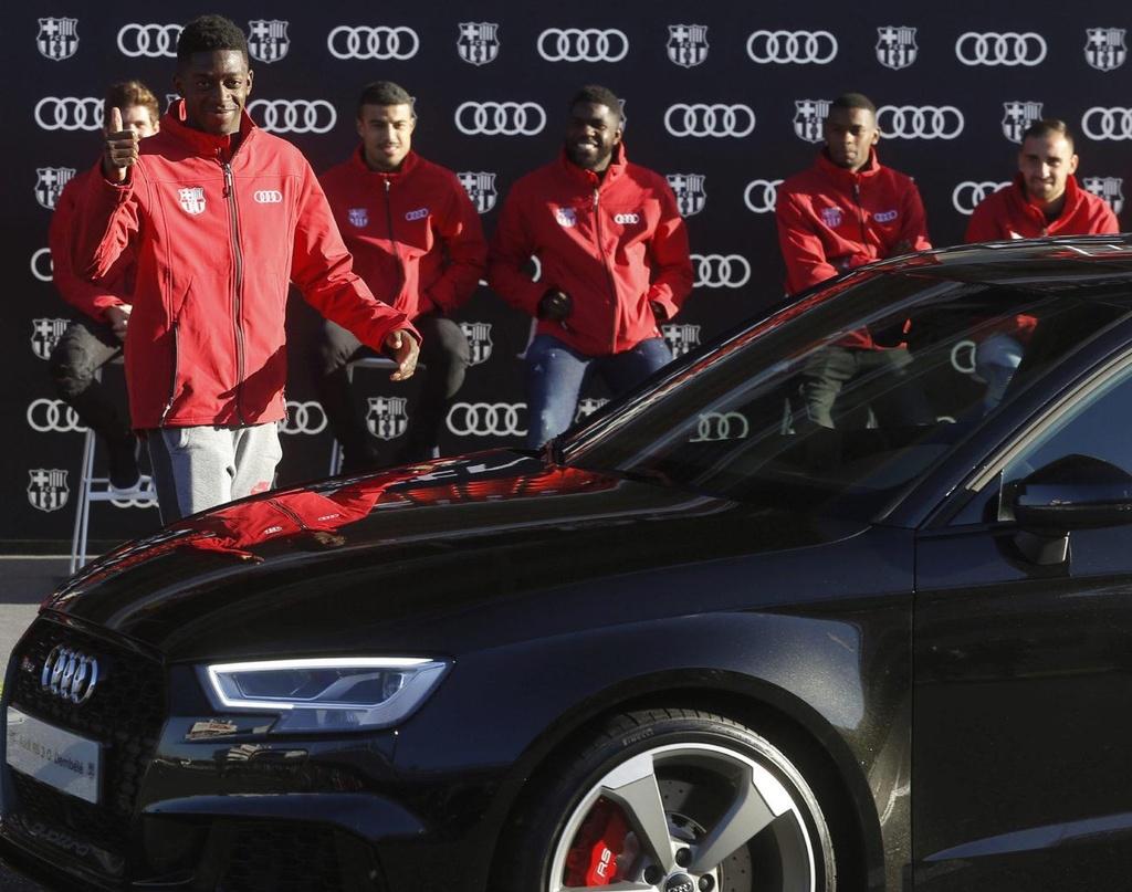 Audi thu hoi xe cua cac cau thu Barcelona anh 6