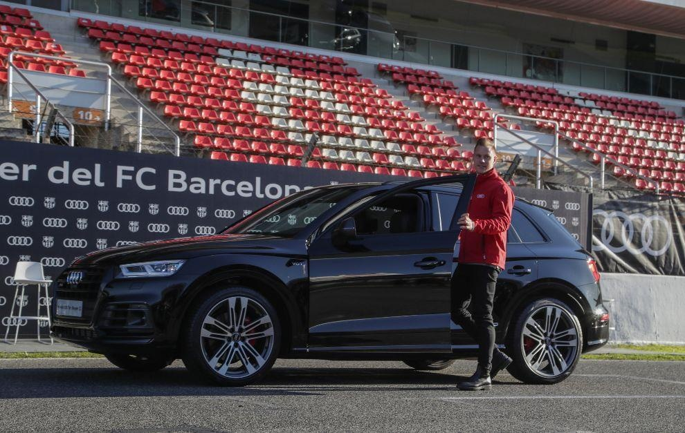 Audi thu hoi xe cua cac cau thu Barcelona anh 7
