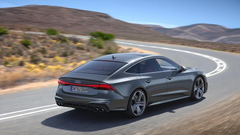 Audi S7 2020 chot gia ban, canh tranh Mercedes-AMG CLS 53 hinh anh 3