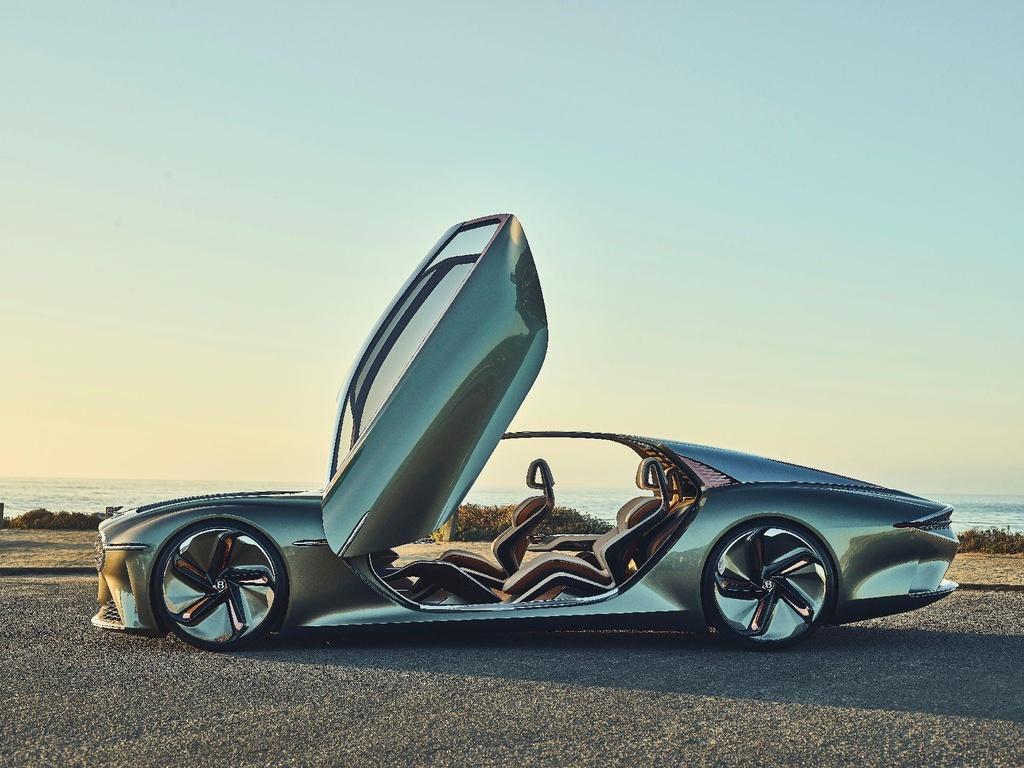 Bentley EXP 100 GT ra mat anh 1