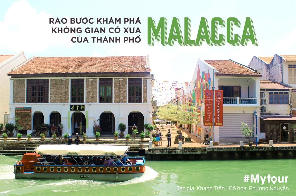 #Mytour: Rao buoc kham pha khong gian co xua cua thanh pho Malacca hinh anh 1