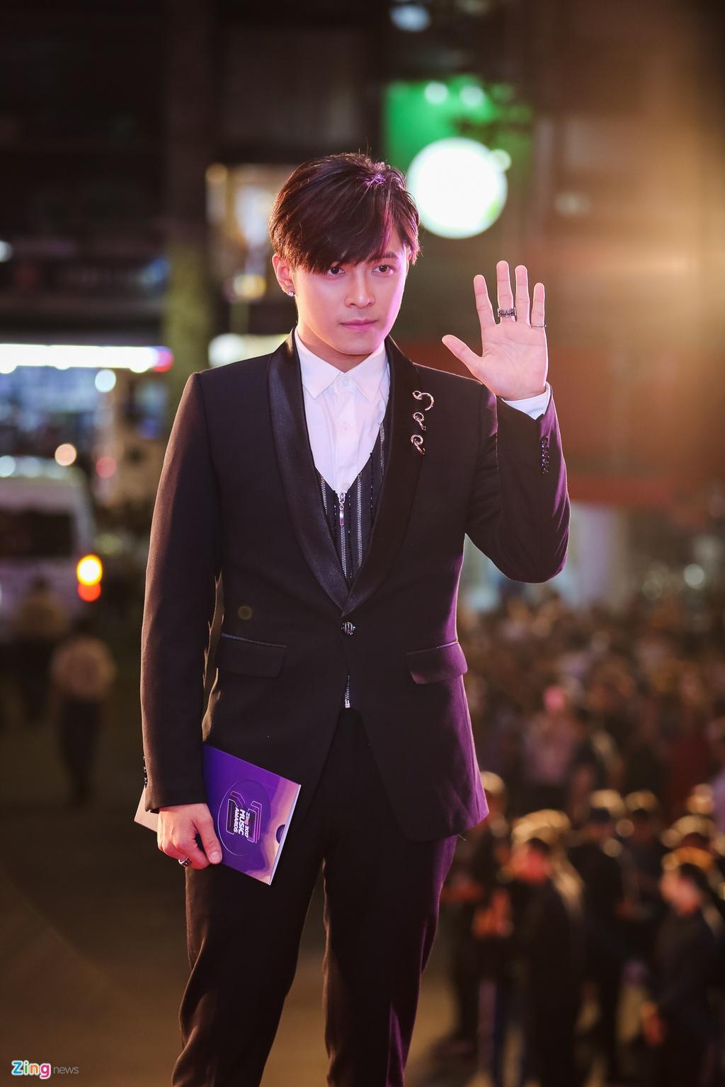 Sao nam Vpop chuong phong cach lich lam tren tham do ZMA 2017 hinh anh 5
