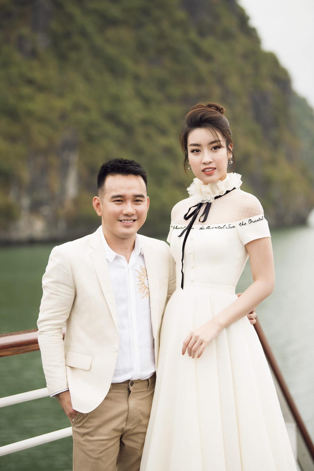 Nha Phuong cung dan sao nu xuat hien xinh xan tai show thoi trang hinh anh 5