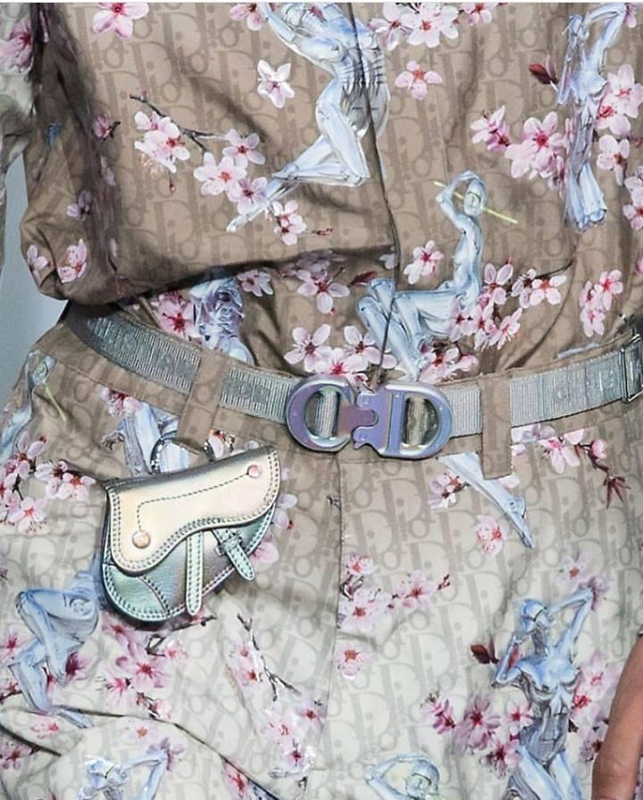 Show dien Dior gay sot voi phu kien giong bao dung sung hinh anh 2