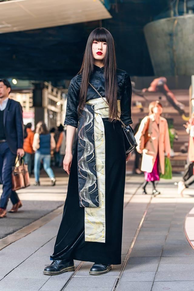 Street style Tokyo - gioi tre Nhat mac di nhung van hop xu huong hinh anh 13