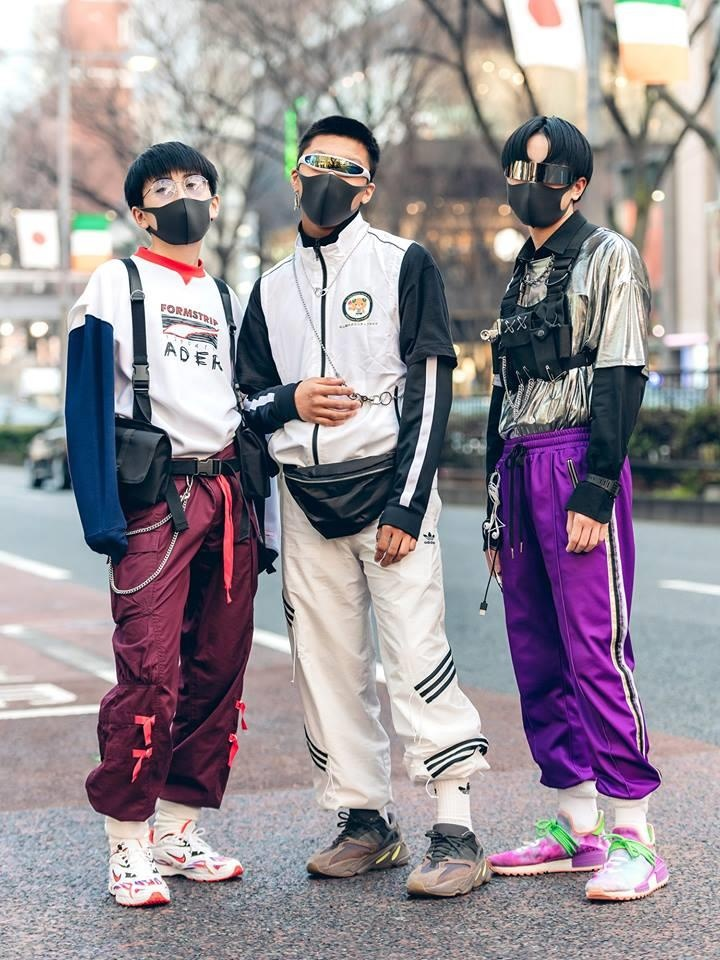 Street style Tokyo - gioi tre Nhat mac di nhung van hop xu huong hinh anh 2