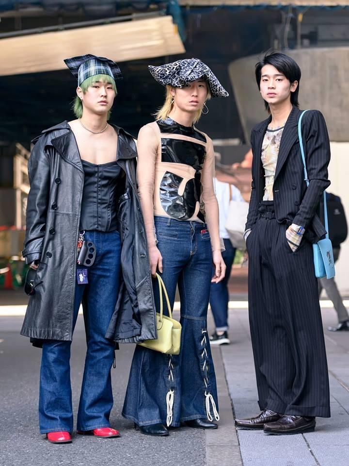 Street style Tokyo - gioi tre Nhat mac di nhung van hop xu huong hinh anh 4
