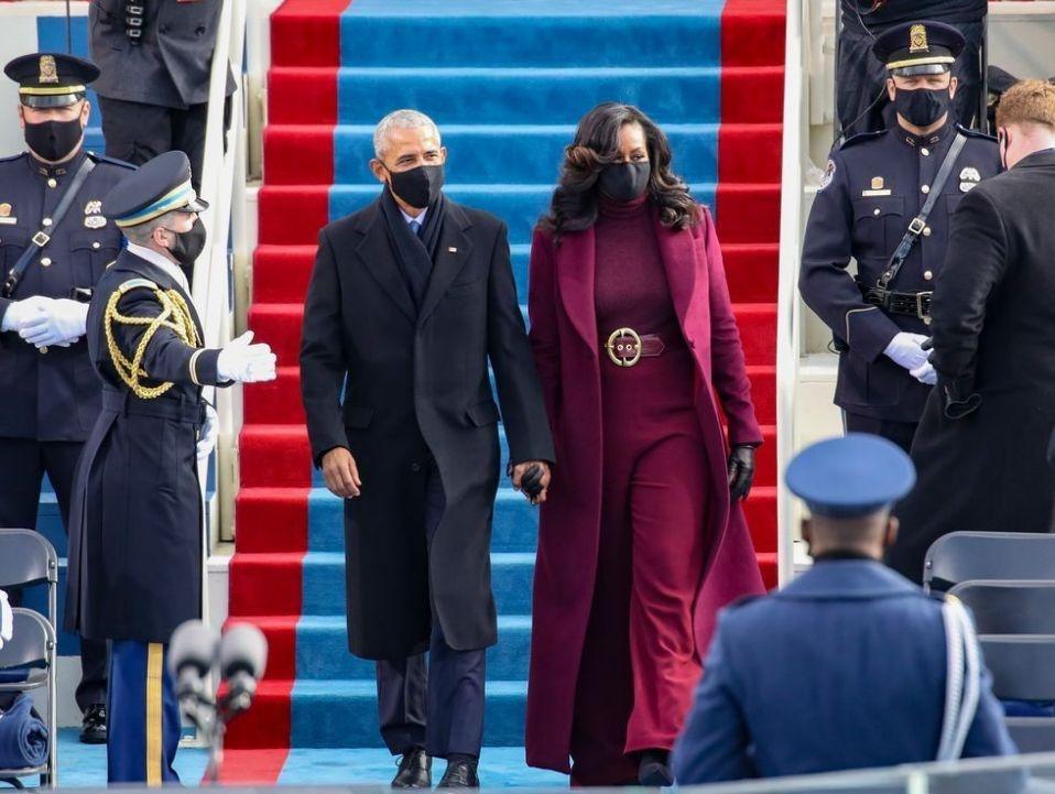Ba Michelle Obama duoc khen mac dep anh 1