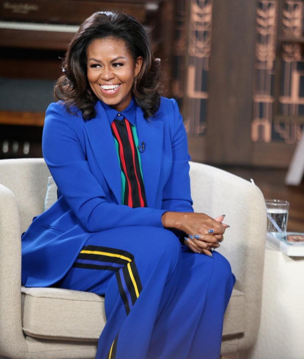 Ba Michelle Obama duoc khen mac dep anh 4