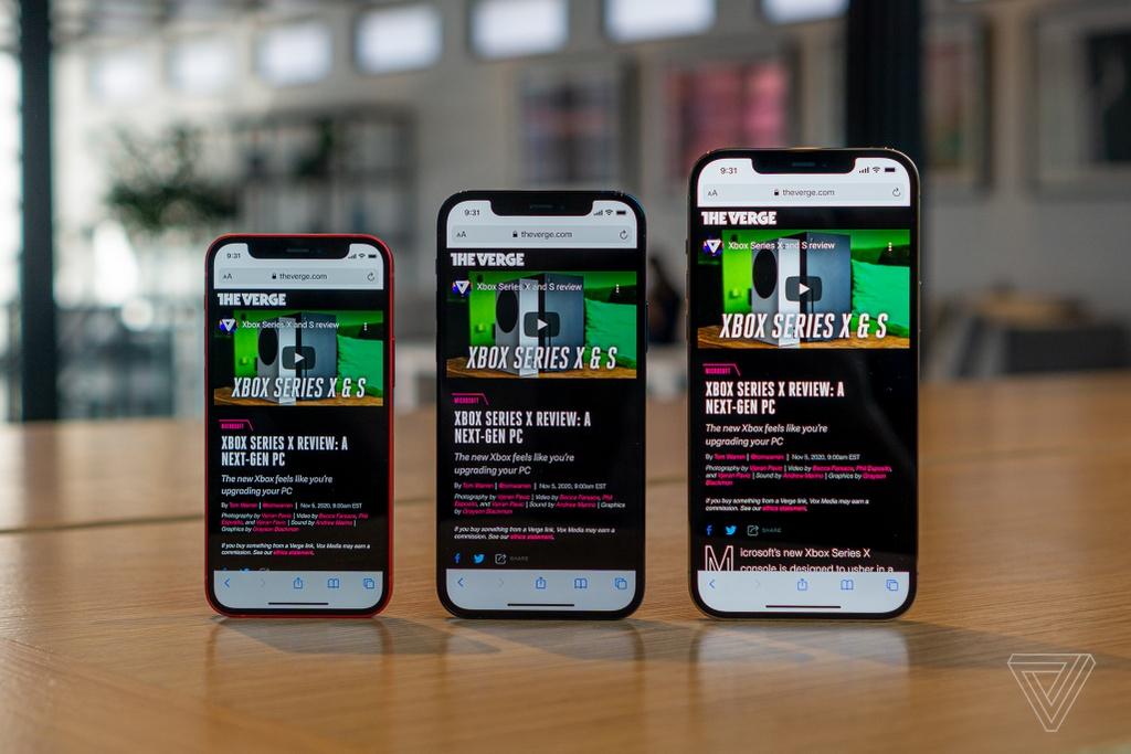 Danh gia nhanh iPhone 12 mini va iPhone 12 Pro Max anh 9
