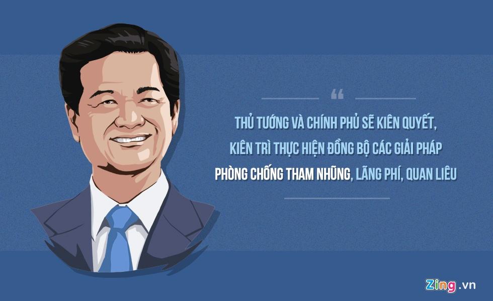 10 phat ngon an tuong cua Thu tuong Nguyen Tan Dung hinh anh 1