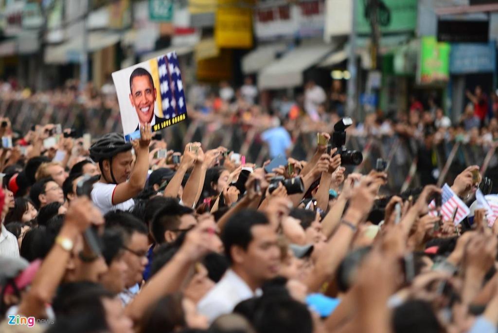 Nguoi dan Sai Gon nong nhiet chao don Tong thong Obama hinh anh 11