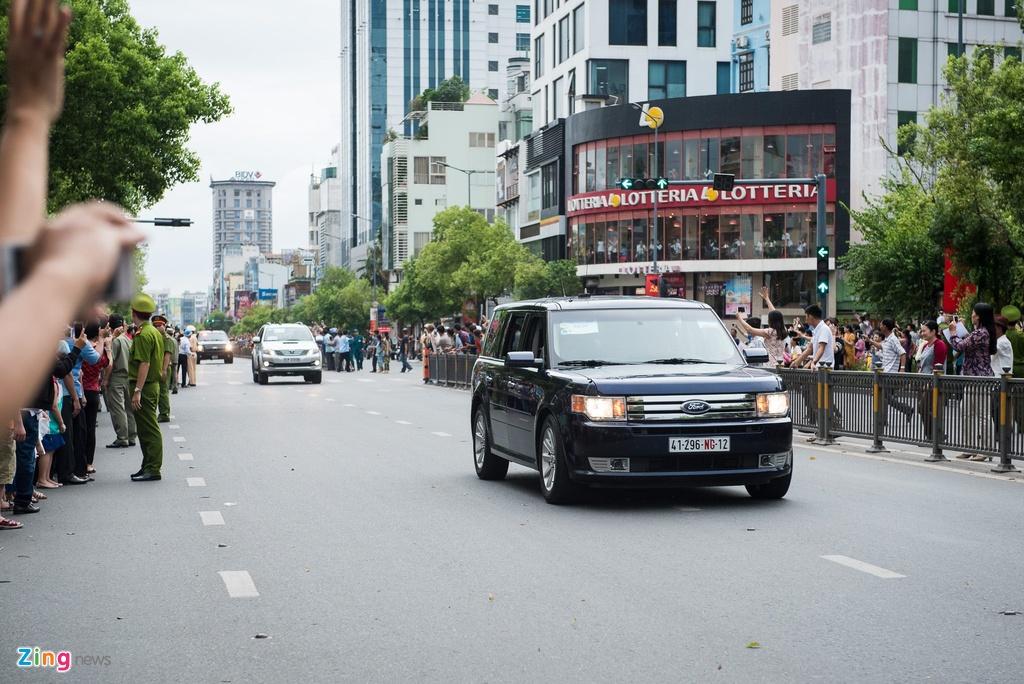 Nguoi dan Sai Gon nong nhiet chao don Tong thong Obama hinh anh 7
