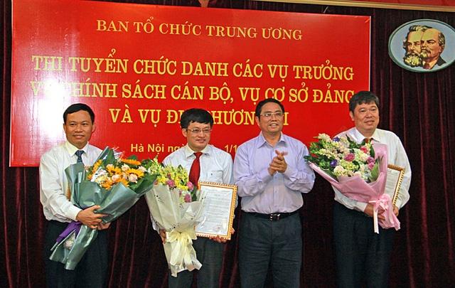 Thi tuyen vu truong o Ban To chuc Trung uong dien ra the nao? hinh anh 3
