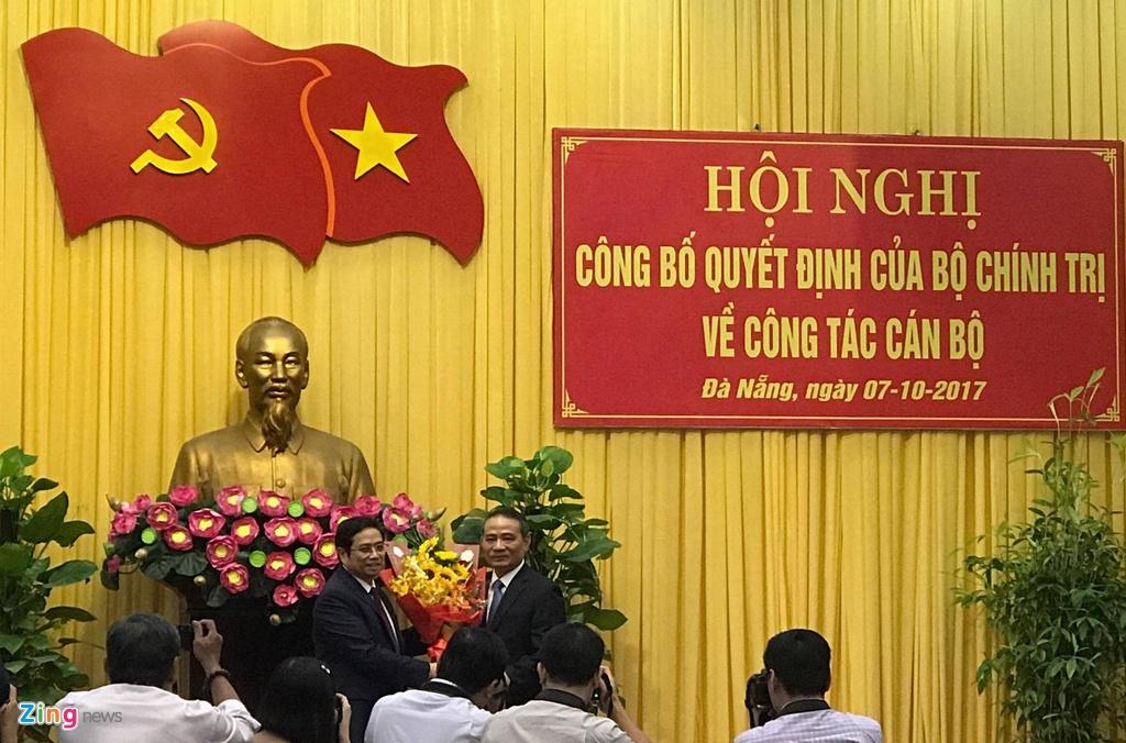 Bo truong Giao thong Truong Quang Nghia lam Bi thu Da Nang hinh anh 1