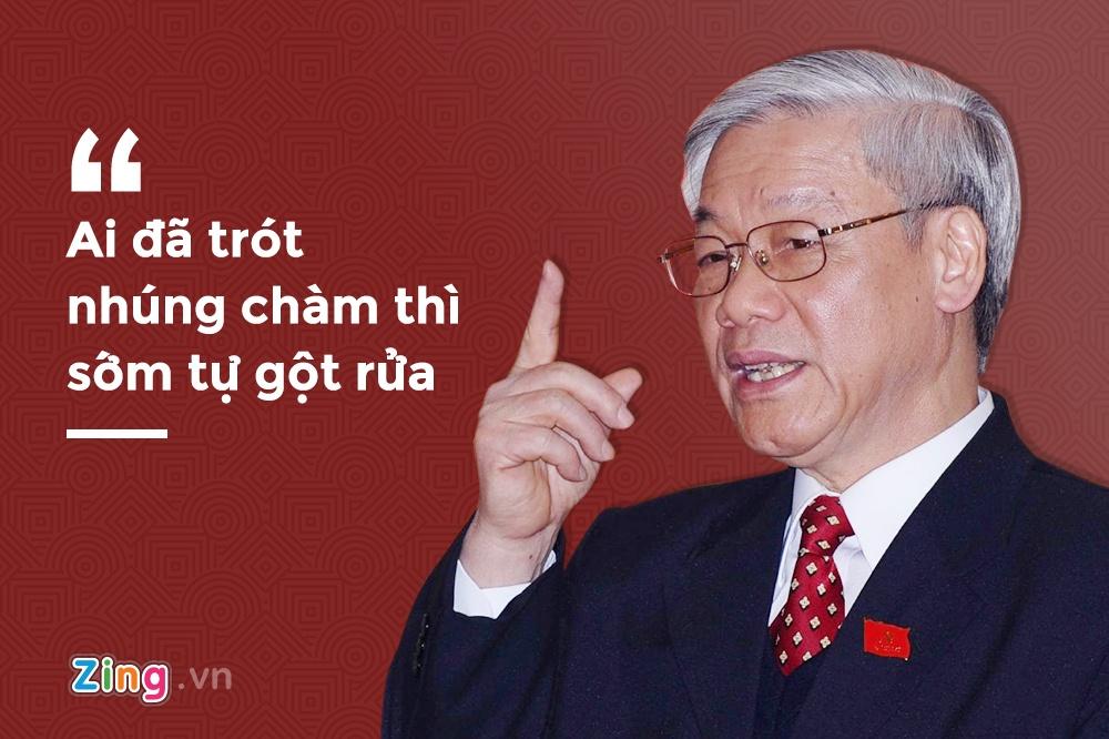 phat ngon cua Tong bi thu Nguyen Phu Trong anh 7