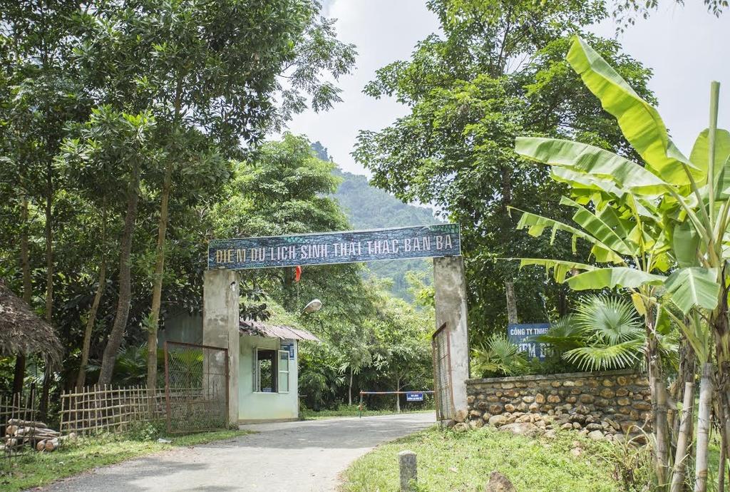 Thac Ban Ba - co son nu giua nui rung Tuyen Quang hinh anh 1