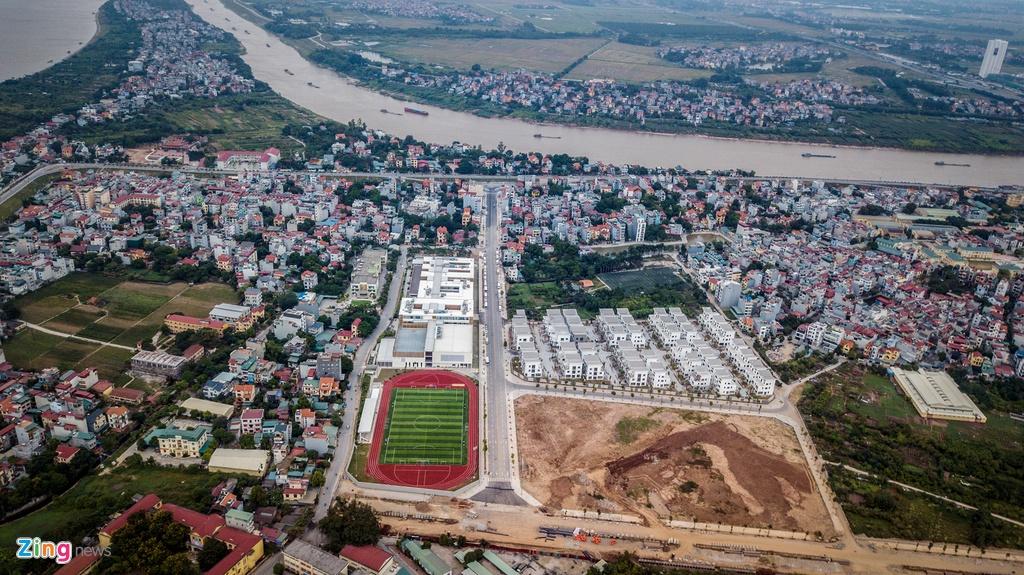 Tuyến đường không tên gần 200 tỷ đồng ở Hà Nội vừa khánh thành