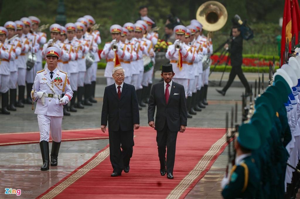 Quoc vuong Brunei tham chinh thuc Viet Nam anh 3