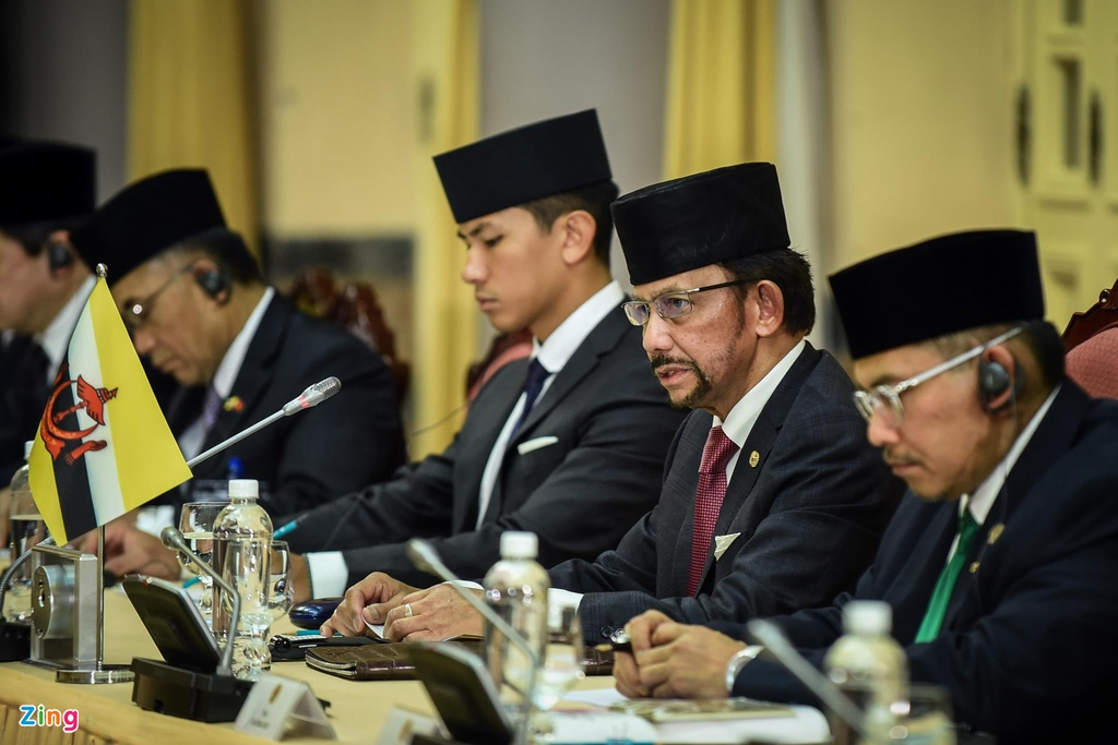 Quoc vuong Brunei tham chinh thuc Viet Nam anh 6