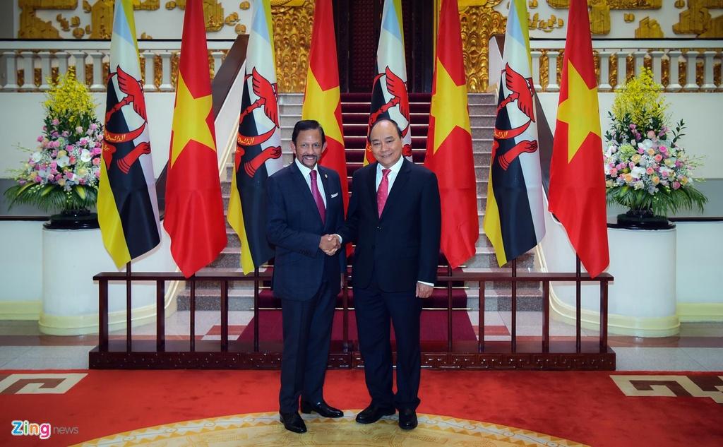 Quoc vuong Brunei tham chinh thuc Viet Nam anh 8