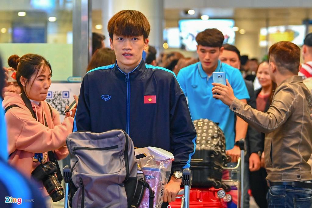 U23 Viet Nam duoc nguoi ham mo chao don sau that bai hinh anh 4 4_zing.jpg