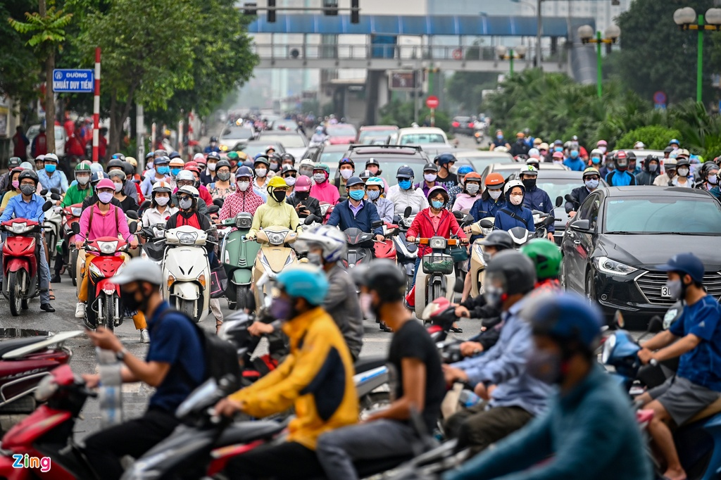 ha noi un tac giao thong trong dich covid-19 anh 1