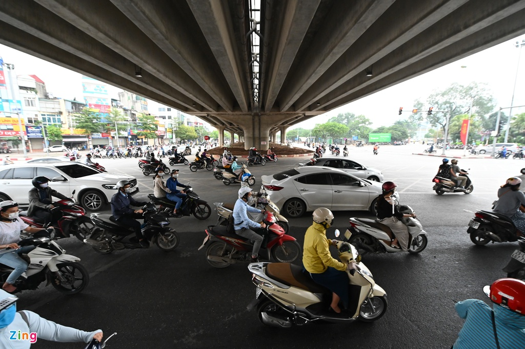 ha noi un tac giao thong trong dich covid-19 anh 5