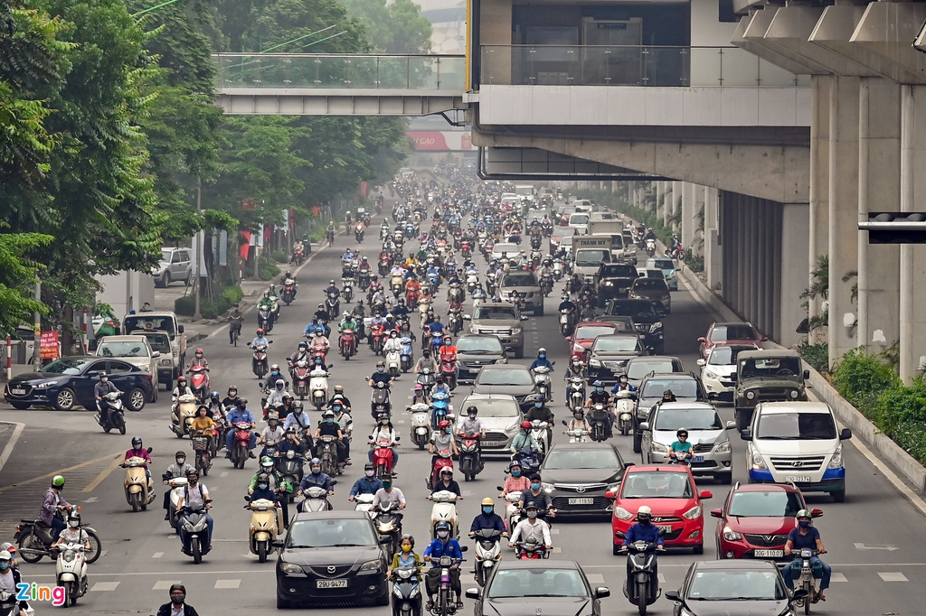 ha noi un tac giao thong trong dich covid-19 anh 6