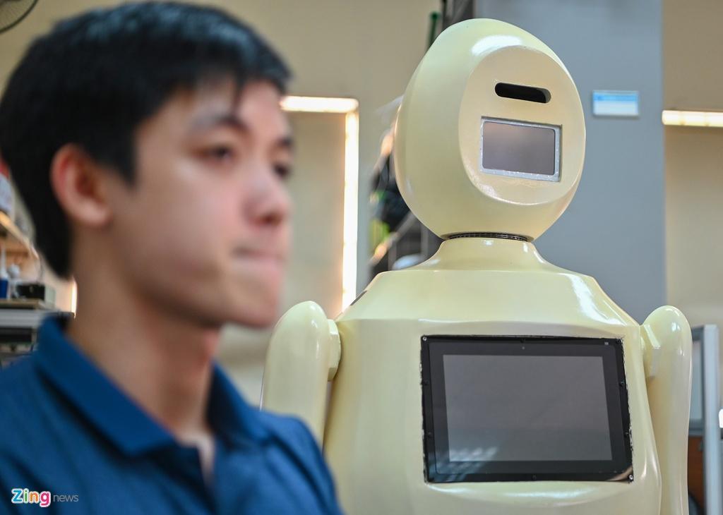 robot phat hien nguoi khong deo khau trang anh 7