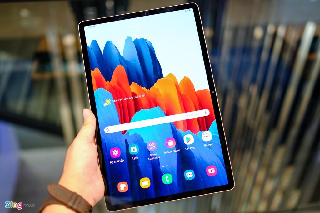 Samsung ra mat Note20,  Samsung ra mat Tab S7,  tablet moi cua Samsung,  cau hinh Tab S7,  Samsung Tab S7 gia bao nhieu anh 9