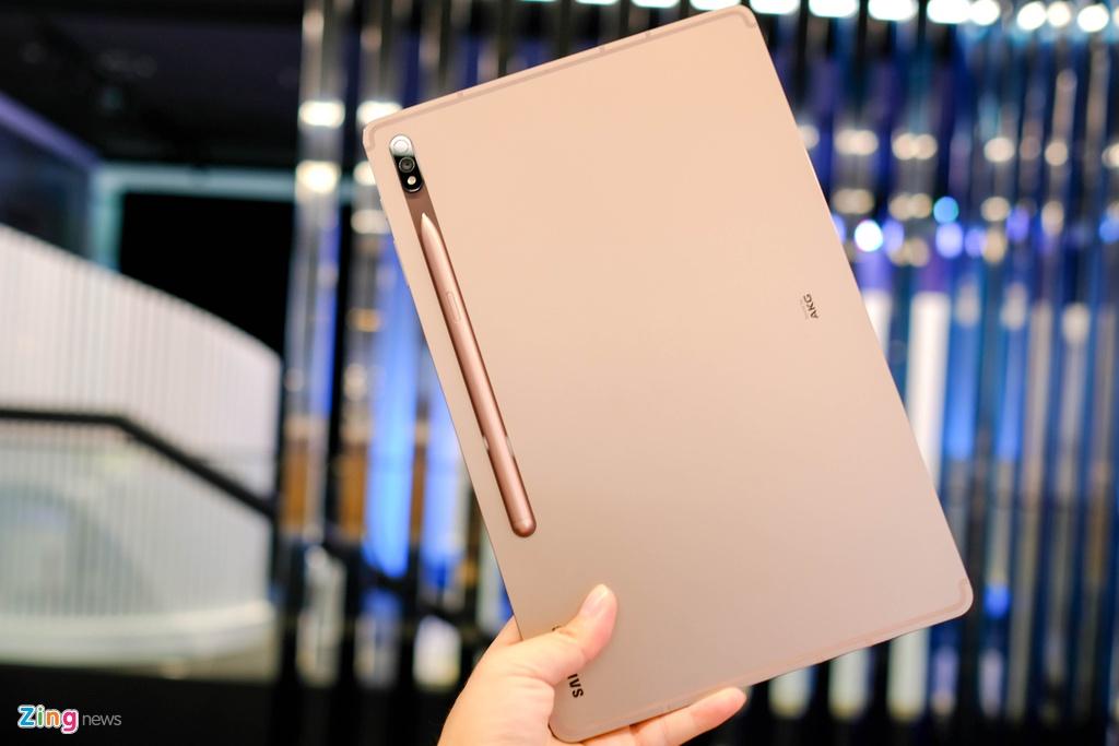 Samsung ra mat Note20,  Samsung ra mat Tab S7,  tablet moi cua Samsung,  cau hinh Tab S7,  Samsung Tab S7 gia bao nhieu anh 2