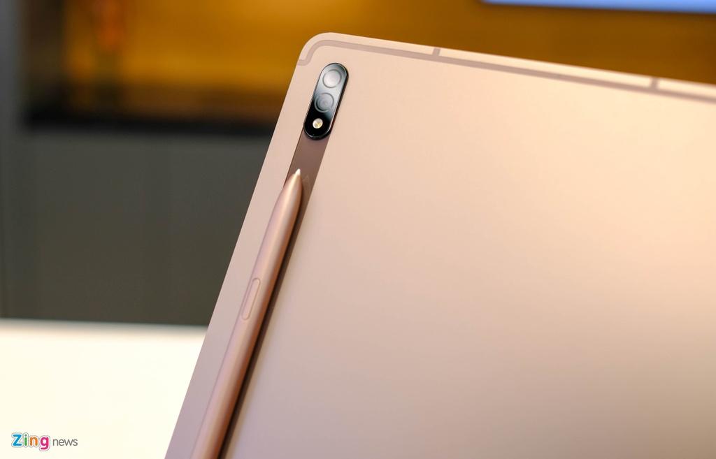 Samsung ra mat Note20,  Samsung ra mat Tab S7,  tablet moi cua Samsung,  cau hinh Tab S7,  Samsung Tab S7 gia bao nhieu anh 3