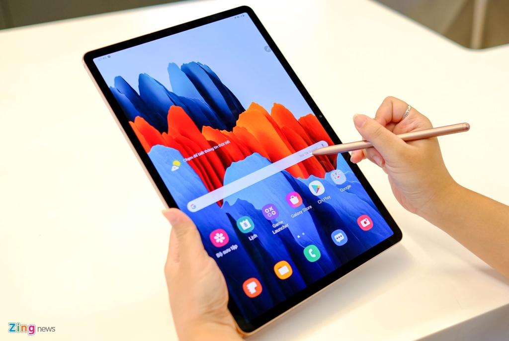 Samsung ra mat Note20,  Samsung ra mat Tab S7,  tablet moi cua Samsung,  cau hinh Tab S7,  Samsung Tab S7 gia bao nhieu anh 4