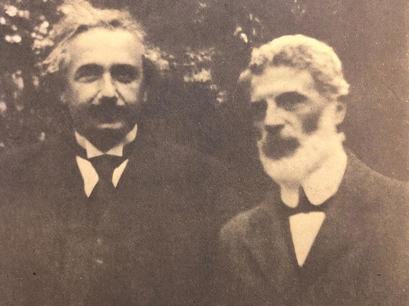 Michele Angelo Besso la ai,  ban than cua Albert Einstein la ai,  Albert Einstein co ban than khong,  bai hoc tu Albert Einstein anh 1