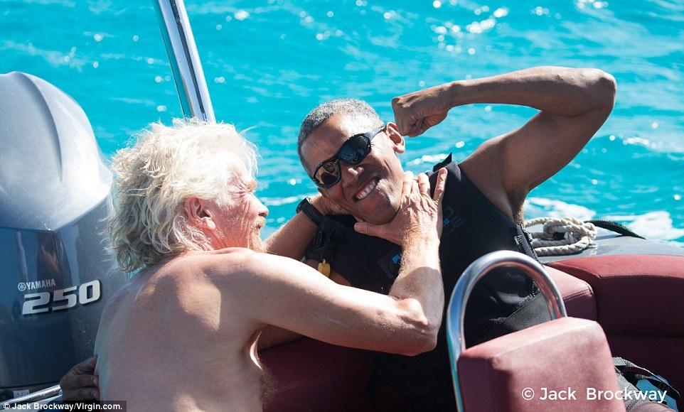 Obama vui ve tap luot song sau khi ve huu hinh anh 3