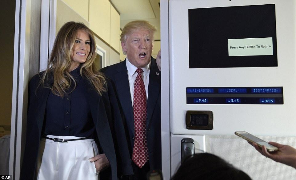 Cuoi tuan thanh thoi cua ong Trump va thu tuong Nhat hinh anh 6