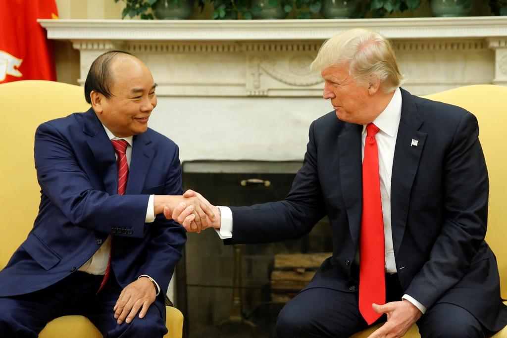 thu tuong Nguyen Xuan Phuc gap tong thong Trump anh 10
