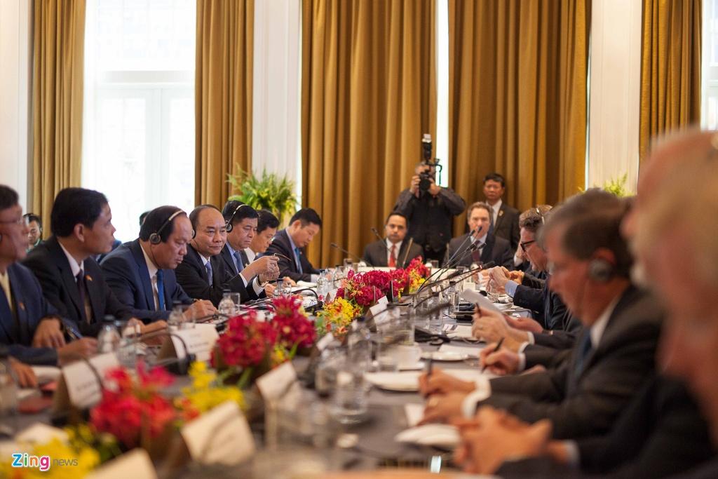 thu tuong Nguyen Xuan Phuc gap tong thong Trump anh 5