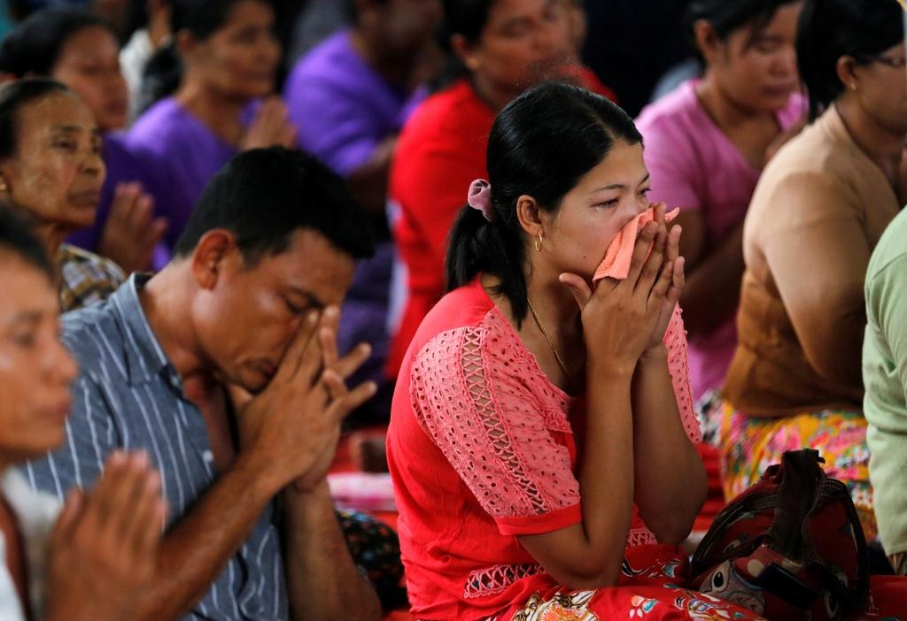 dam tang nan nhan roi may bay Myanmar anh 4