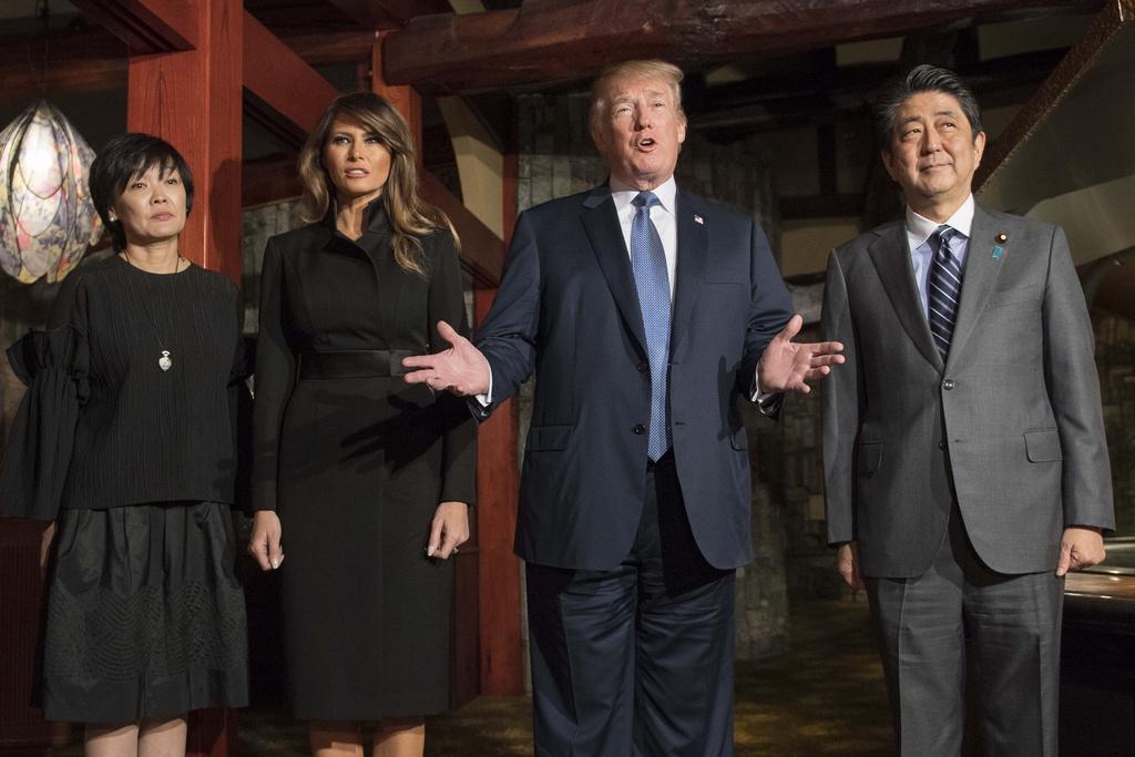 TT Trump gap Nhat hoang, cung Thu tuong Abe cho ca an hinh anh 8