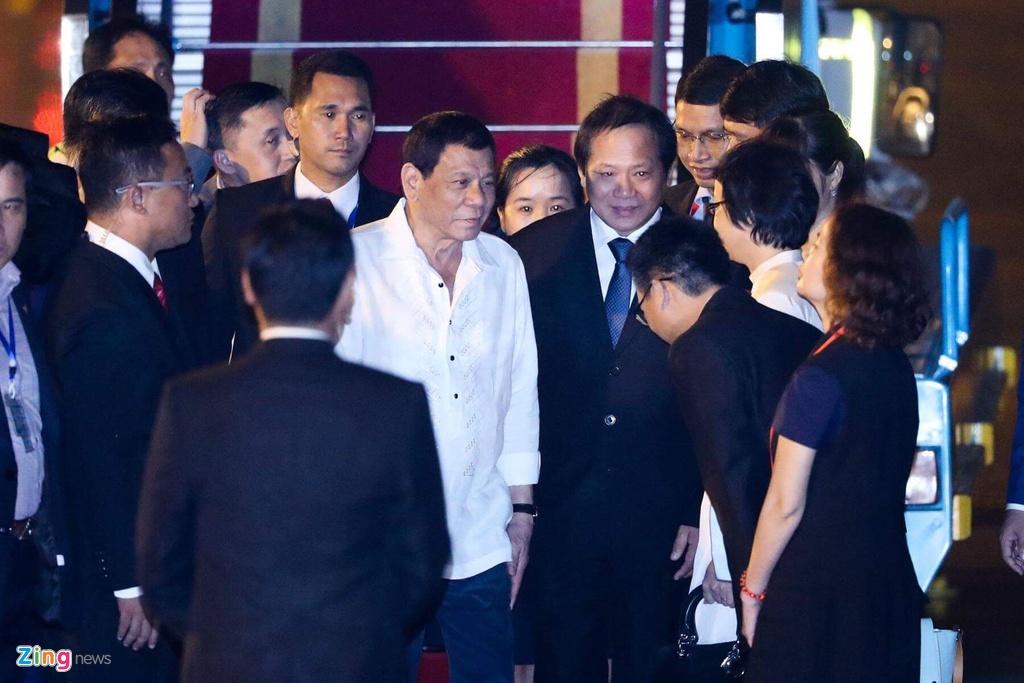 Tong thong Philippines Duterte den Da Nang du APEC hinh anh 5