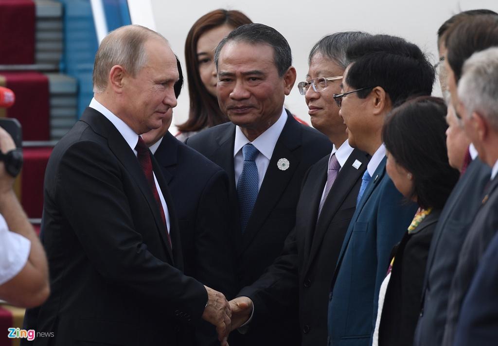 Chuyen co cho Tong thong Putin den Da Nang du APEC hinh anh 1