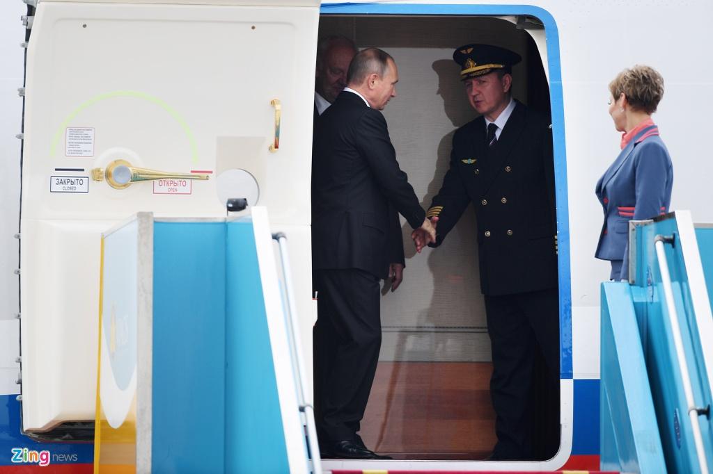 Chuyen co cho Tong thong Putin den Da Nang du APEC hinh anh 7