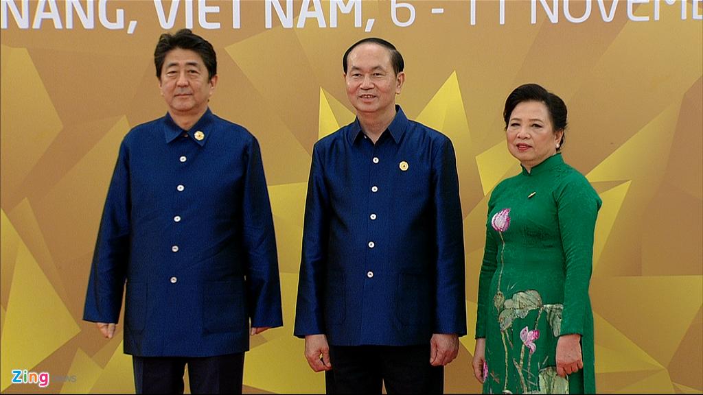 Chu tich nuoc Tran Dai Quang chu tri tiec chieu dai lanh dao APEC hinh anh 5